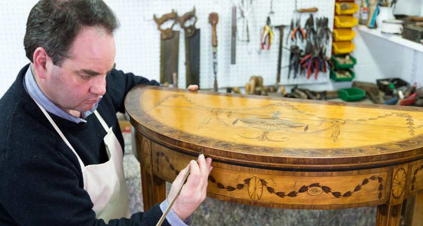 Ludovic Potts antique furniture restoration
