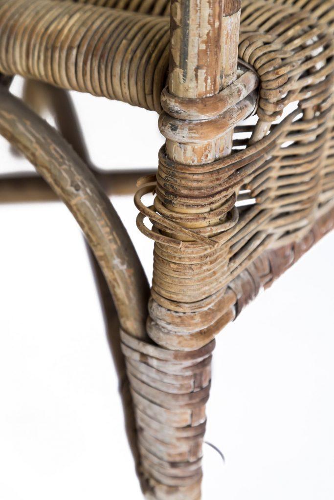Cane furniture repair