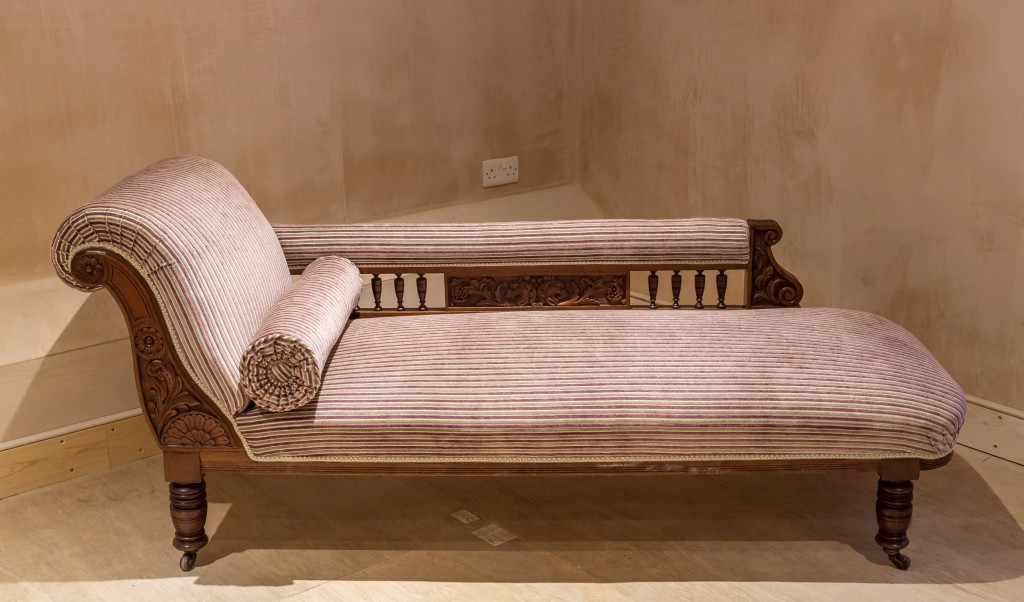 Chaise-longue finished detail