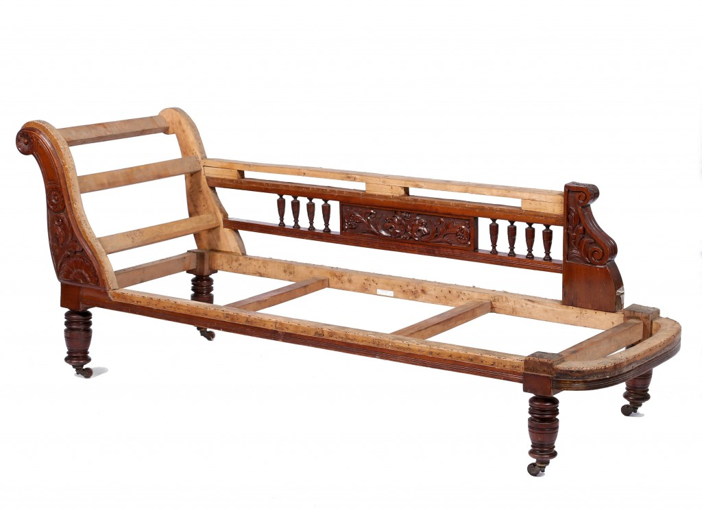 Chaise-longue frame