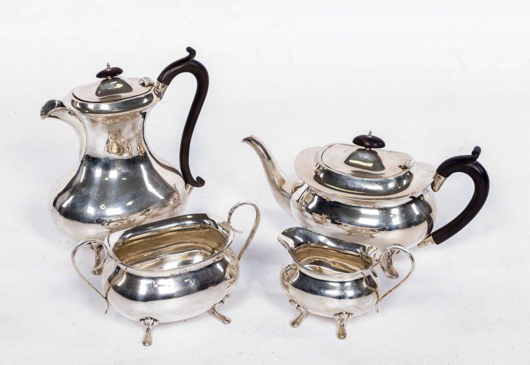 Tea service after handle repair