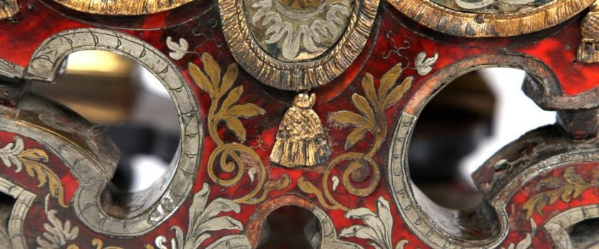 Boulle work detail