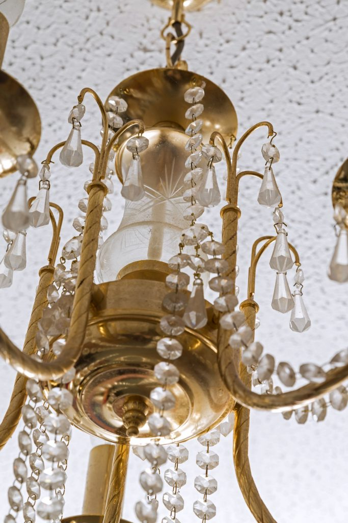 Chandelier close up