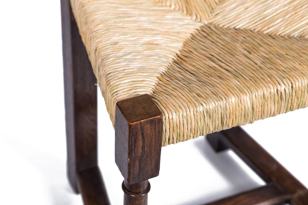 Rush pattern for dining chair
