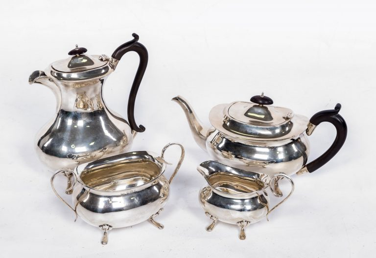 Tea service after handle repair