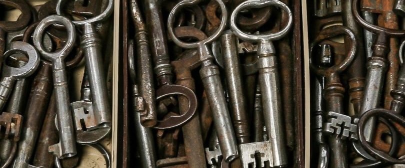 Collection of Georgian keys